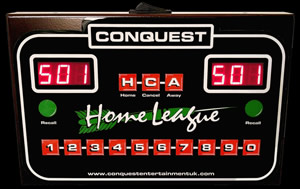 Conquest Home League Dart Scorer